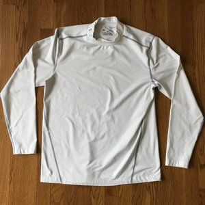 Under Armour Fitted ColdGear Tee Shirt Mockneck
